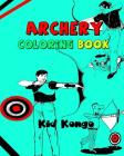 Archery Coloring Book Cover Image