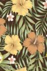 Address Book: For Contacts, Addresses, Phone, Email, Note, Emergency Contacts, Alphabetical Index With Slogan Aloha Tropical Leaves Cover Image