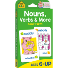 School Zone Nouns, Verbs & More Game Cards Cover Image