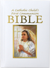 Catholic Child's First Communion Gift Bible Cover Image
