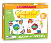 Beginning Sounds Learning Puzzles Cover Image