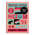 Good Luck Greeting Card Puzzle Cover Image