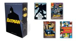 Batman: Chronicles of the Dark Knight: (4 hardcover, illustrated books) Cover Image
