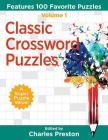 Classic Crossword Puzzles: Features 100 Favorite Puzzles Cover Image