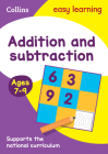 Collins Easy Learning Age 7-11 — Addition and Subtraction Ages 7-9: New Edition Cover Image