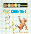 Curious Baby Counting (Curious George Board Book with Beads) (Curious Baby Curious George) Cover Image