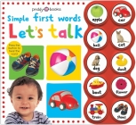 Simple First Words Let's Talk Cover Image