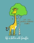 Life Is Better With Giraffes - 2019- 2020 Weekly & Monthly Planner: Weekly Planner(From November 2019 Through December 2020)-Planner Schedule Monthly Cover Image