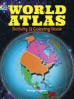 World Atlas Activity and Coloring Book Cover Image