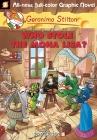 Geronimo Stilton Graphic Novels #6: Who Stole the Mona Lisa? Cover Image