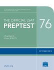 The Official LSAT Preptest 76: (oct. 2015 Lsat) Cover Image