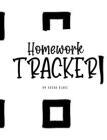 Homework Tracker (8x10 Hardcover Log Book / Planner / Tracker) Cover Image