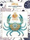 Livres à colorier pour adultes - Niveau facile - Animal Cover Image