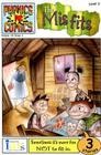 Phonic Comics: The Misfits - Level 3 (Phonics Comics: Level 3) Cover Image