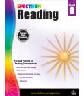Spectrum Reading Workbook, Grade 8 Cover Image