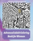 Advanced Adult Coloring Book for Woman: Bachelorette party gift Cover Image
