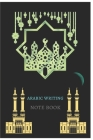 Arabic writing note book: the note book can be used by all Muslim men and women, the note book can be used for Arabic writing, Cover Image