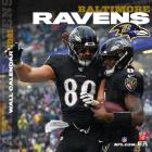 Baltimore Ravens 2021 12x12 Team Wall Calendar Cover Image