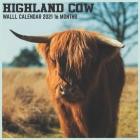 Highland Cow 2021 Wall Calendar: Official Farm Animals Calendar 2021 Cover Image