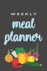 Weekly Meal Planner: 52 Weeks of Meal Menu Prep with Grocery List - Vegetable Cover Pattern Cover Image