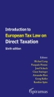 Introduction to European Tax Law on Direct Taxation: Sixth edition Cover Image