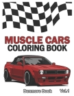Muscle Cars: Coloring books, Classic Cars, Trucks, Planes Motorcycle and Bike (Dover History Coloring Book) (Volume 1) Cover Image