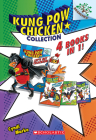 Kung Pow Chicken Collection (Books #1-4) Cover Image