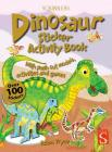 Dinosaur Sticker Activity Book (Scribblers Sticker Activity Book) Cover Image