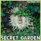 Secret Garden Calendar 2021: Official Secret Garden Calendar 2021, 12 Months Cover Image