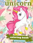 Unicorn Coloring Book: For Kids Ages 4-8 - 100 coloring pages, 8.5 x 11 inches Cover Image