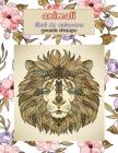 Libri da colorare - Grande stampa - Animali Cover Image