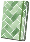 Green Tile Linen Journal Cover Image