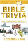 The Complete Book of Bible Trivia (Complete Book Of... (Tyndale House Publishers)) Cover Image