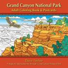 Grand Canyon National Park Adult Coloring Book and Postcards Cover Image