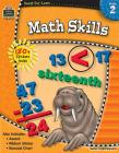 Ready-Set-Learn: Math Skills Grd 2 [With 180+ Stickers] Cover Image