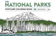 The National Parks Postcard Coloring Book: 20 Colorable Postcards of America's National Parks Cover Image