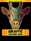 Giraffe Coloring Book: Stress Relieving Designs Coloring Book For Adults Cover Image