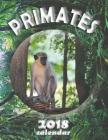 Primates 2018 Calendar Cover Image