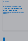 Sprache in Der Geschichte: Etappen Der Erforschung Des Biblischen Hebräisch Cover Image