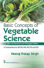 Basic Concepts of Vegetable Science Cover Image