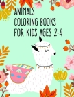 Animals coloring books for kids ages 2-4: Coloring Pages Christmas Book, Creative Art Activities for Children, kids and Adults Cover Image