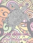Tortue éblouissante - Livre de coloriage pour adultes Cover Image