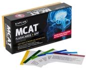 Kaplan MCAT Flashcards + App (Kaplan Test Prep) Cover Image
