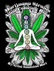 Marijuana Strains: Adult Coloring Book Cover Image