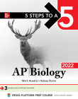 5 Steps to a 5: AP Biology 2022 Cover Image