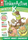 TinkerActive Workbooks: Kindergarten Math Cover Image