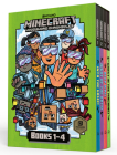 Minecraft Woodsword Chronicles Box Set Books 1-4 (Minecraft) (A Stepping Stone Book(TM)) Cover Image