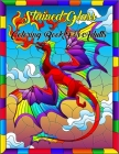 Stained Glass Coloring Book For Adults: Stained Glass Window Pattern Adult Coloring Book for Stress Relief and Relaxation Cover Image