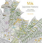 Japanese Harmony Coloring Book: Anti-Stress Coloring Book Cover Image
