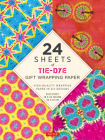 24 Sheets of Tie-Dye Gift Wrapping Paper: High-Quality 18 X 24 (45 X 61 CM) Wrapping Paper Cover Image